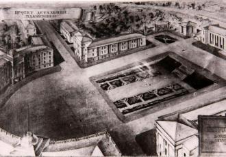 Здание управления Кировской железной дороги в Петрозаводске