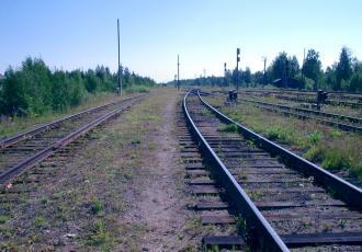 Железнодорожная линия Карпогоры — Вендинга