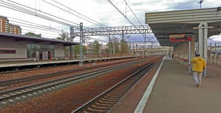 Реконструкция станции Ховрино Октябрьской железной дороги